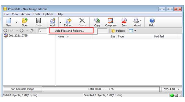 Membuat file berformat ISO | Rian Ardana